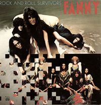 Cover Fanny [1970s] - Rock And Roll Survivors